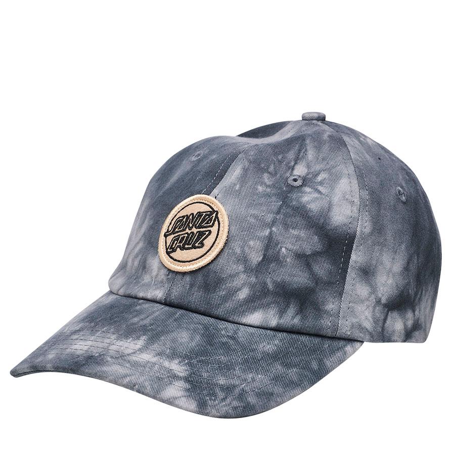 Santa Cruz Reverse Dot Strapback Unstructured Low Women's Hat - Black Crystal
