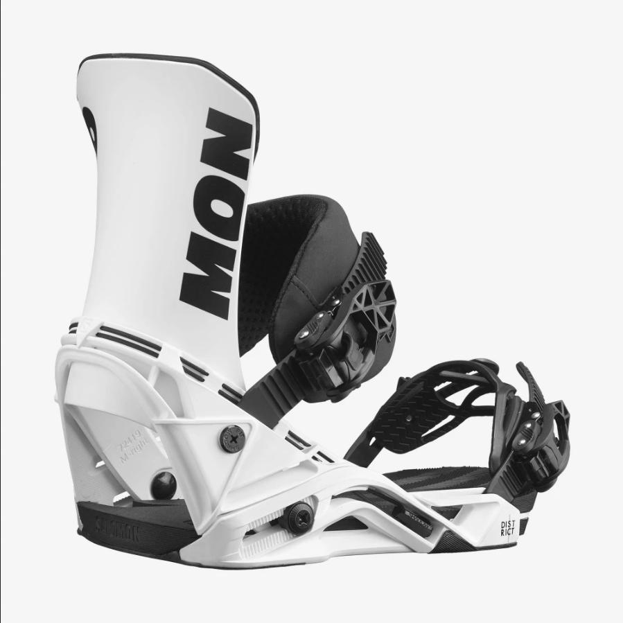 2022 Salomon District Men's Snowboard Bindings