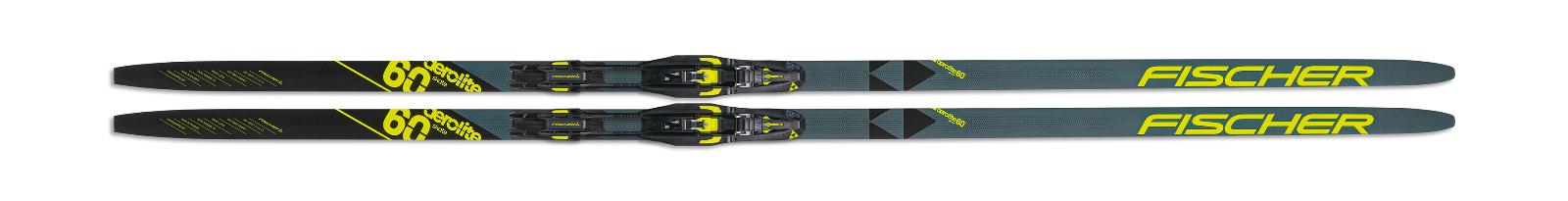 2022 Fischer Aerolite Skate 60 XC Skis w/ Fischer Control Skate Binding