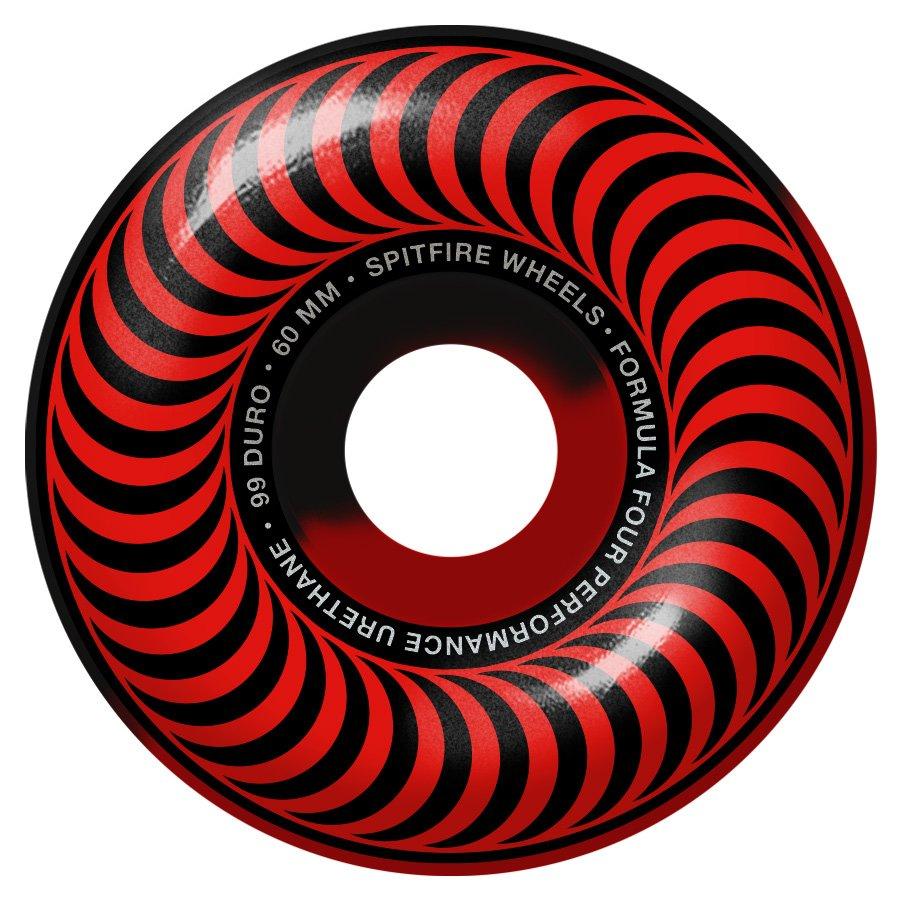 Spitfire Formula Four Classic 99 Duro Red / Black Swirl