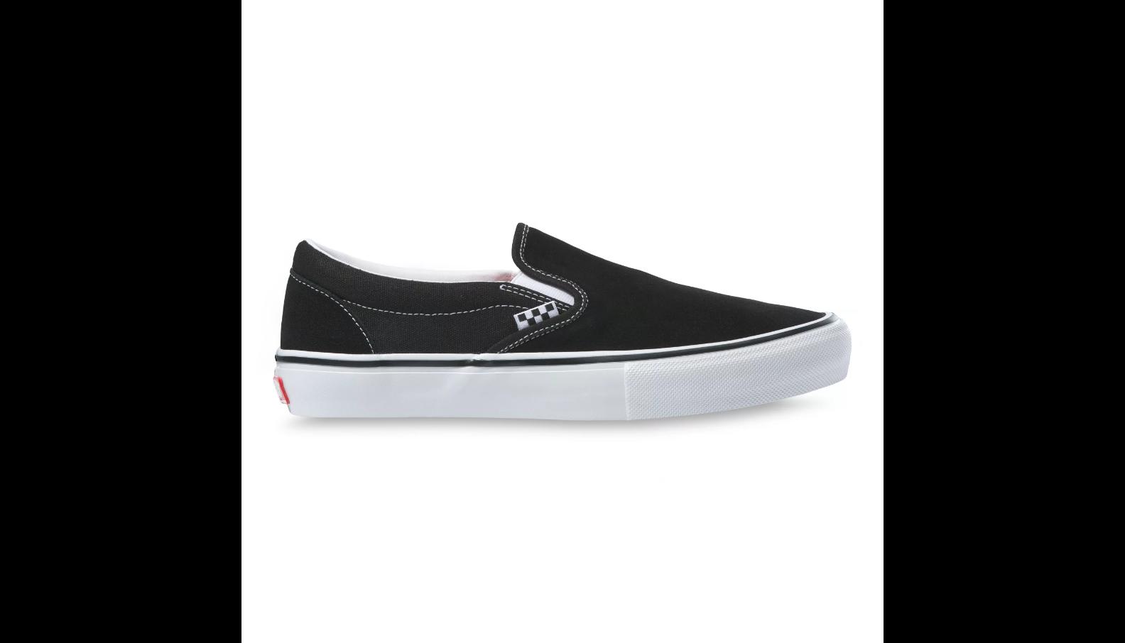 Vans Skate Slip-On - Black/ White
