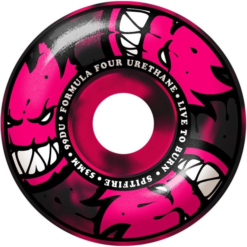 Spitfire Formula Four Afterburner Pink/Black Classic 99 Duro