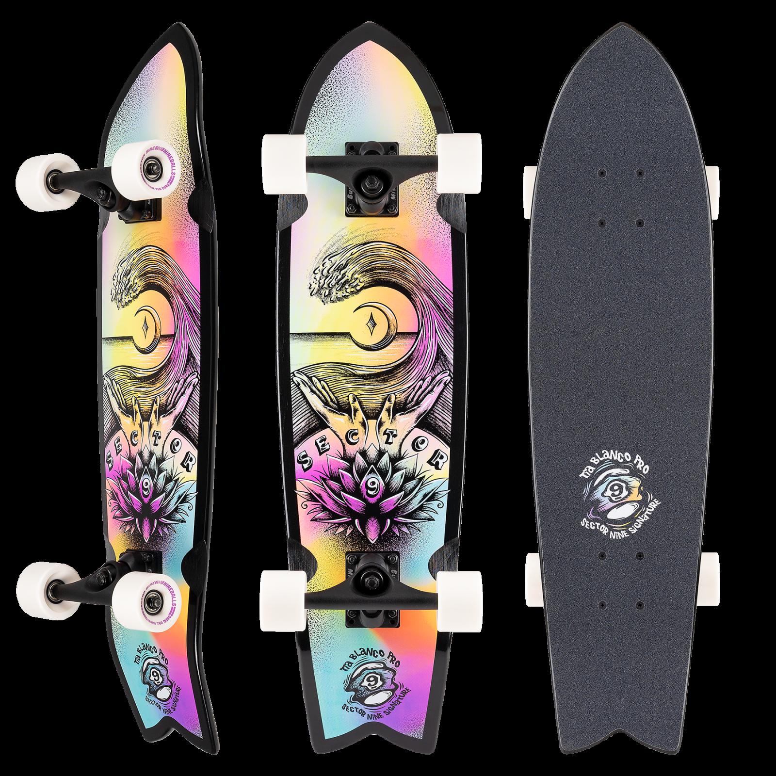 Sector 9 Tia Pro Zen Cruiser Complete Skateboard