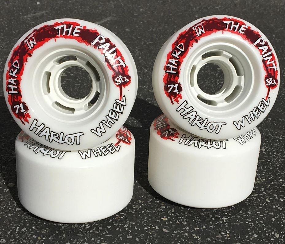 Venom Hard in the Paint Harlot 71mm 80a Longboard Wheels