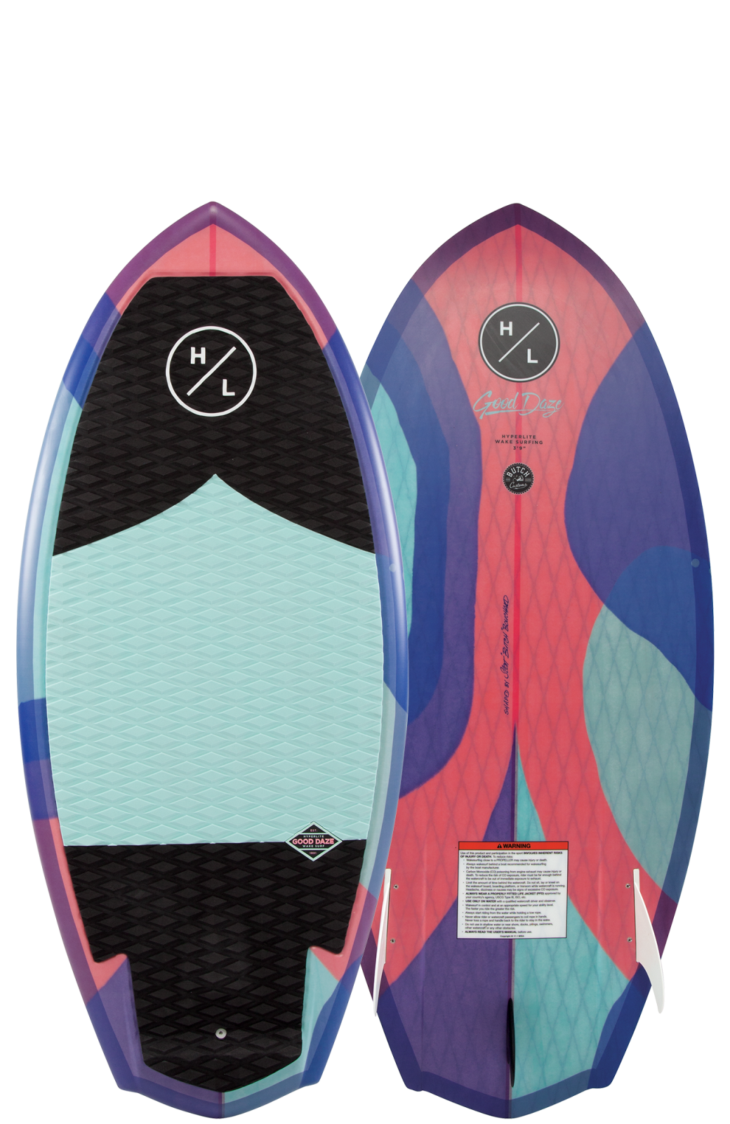 2019 Hyperlite Good Daze Wakesurf Board
