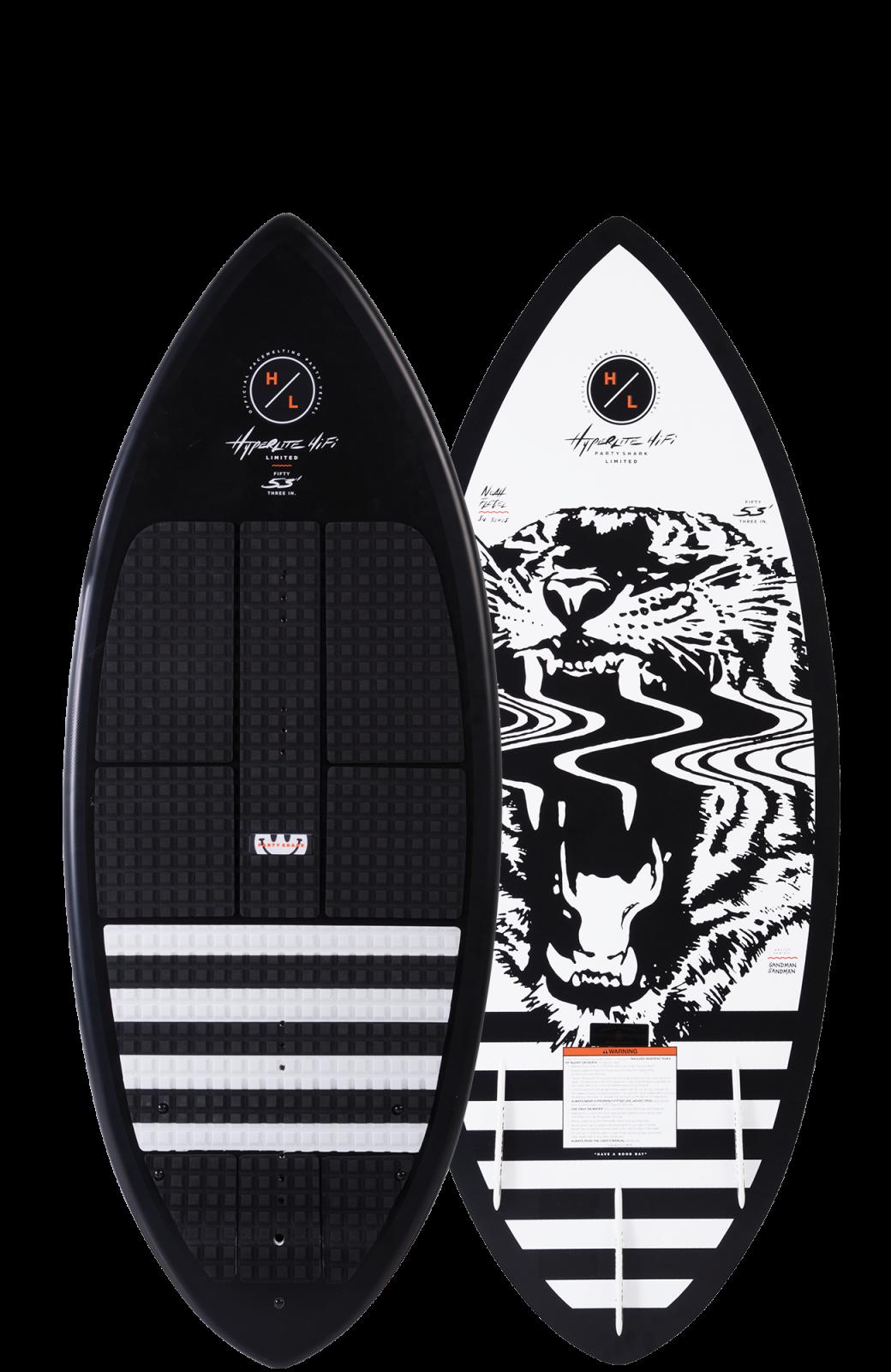 2019 Hyperlite Hi-Fi LTD Party Shark Wakesurf Board