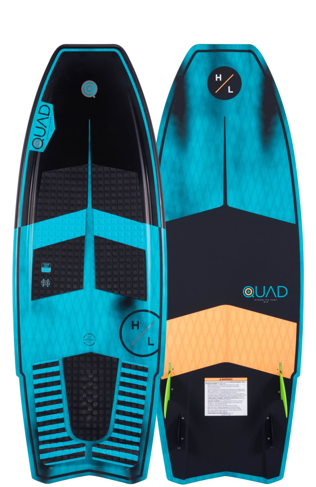 2019 Hyperlite Quad Wakesurf Board