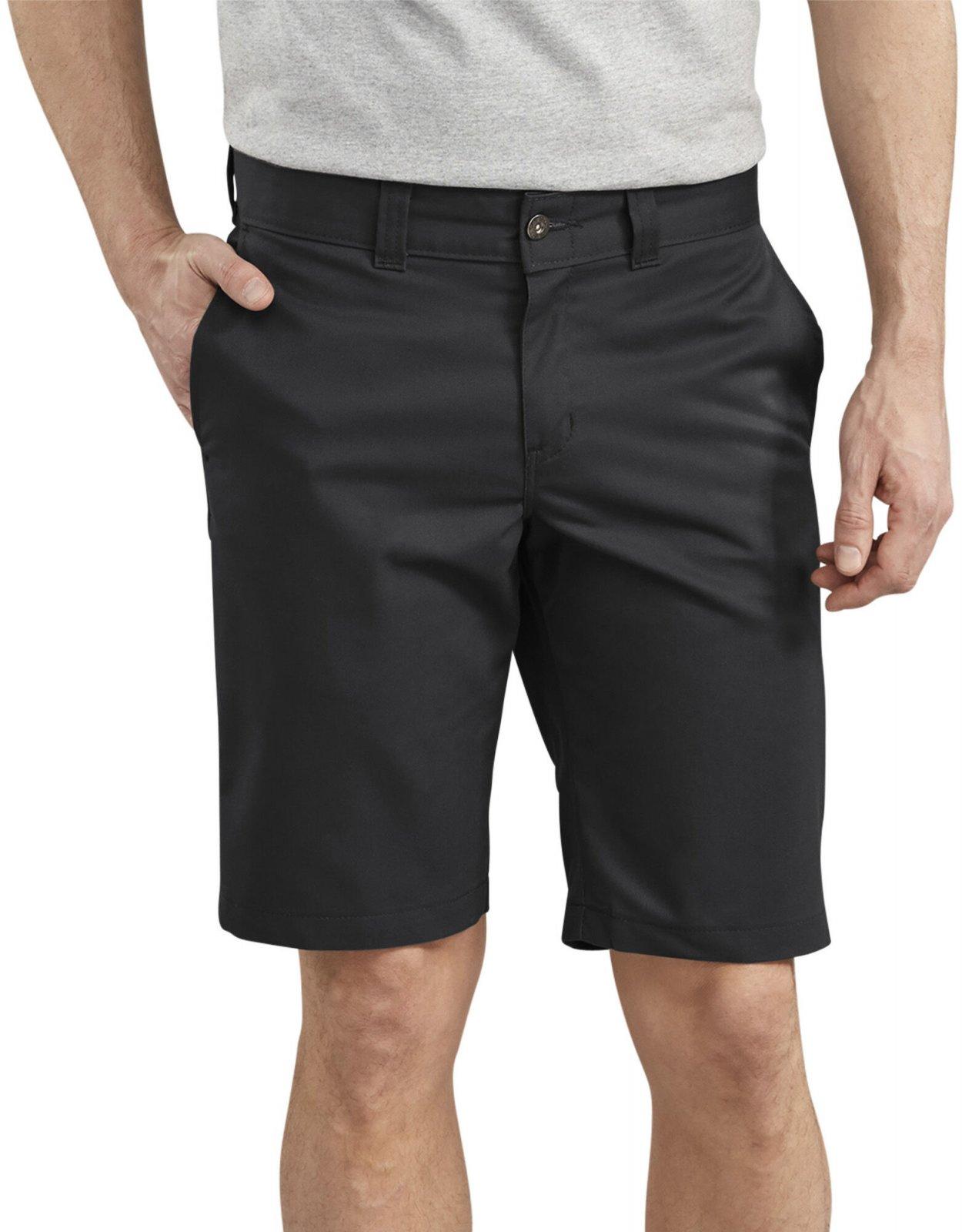 Dickies '67 11 Slim FLEX Twill Work Shorts - Black