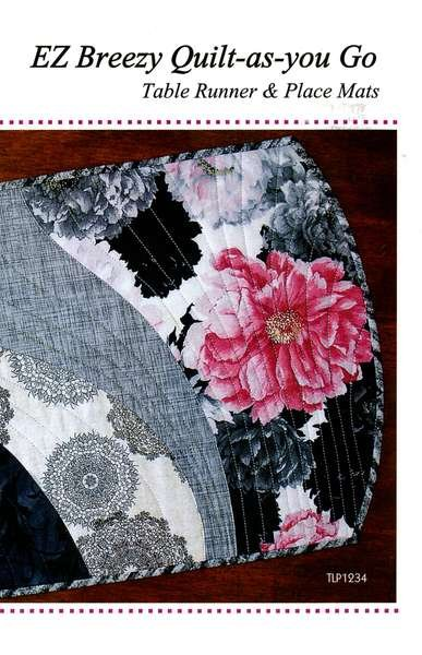 Ez Breezy Quilt As You Go Table Runner Place Mats 854324005131