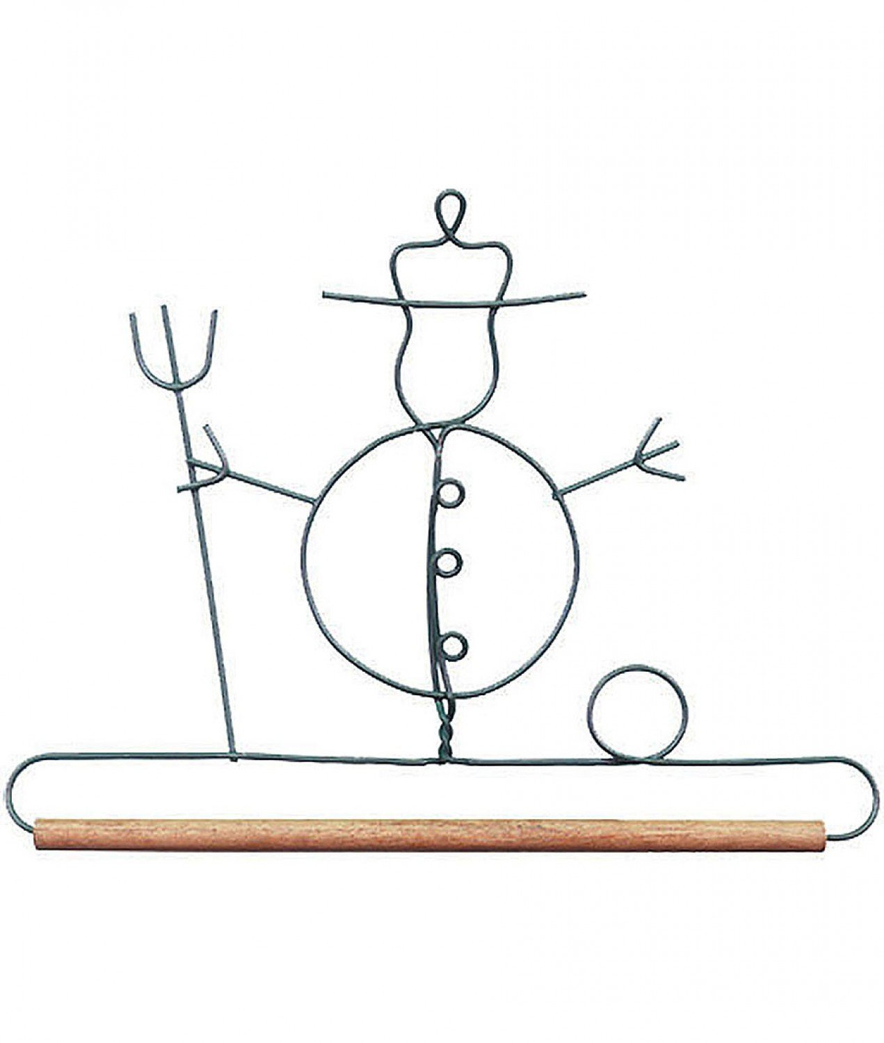 7-1/2in Snowman Decorative Craft Hanger