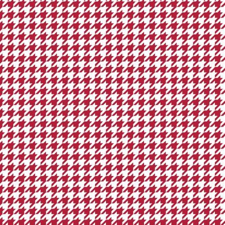 Kimberbell Basic RED HOUNDSTOOTH
