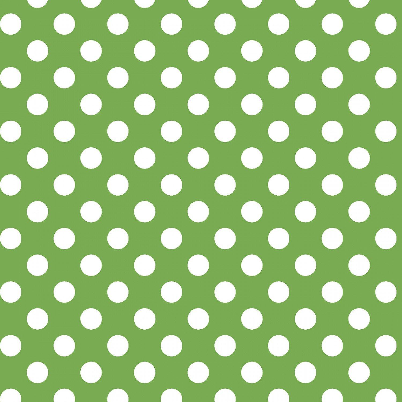 KimberBell Basics  Green Dots # 8216M-G