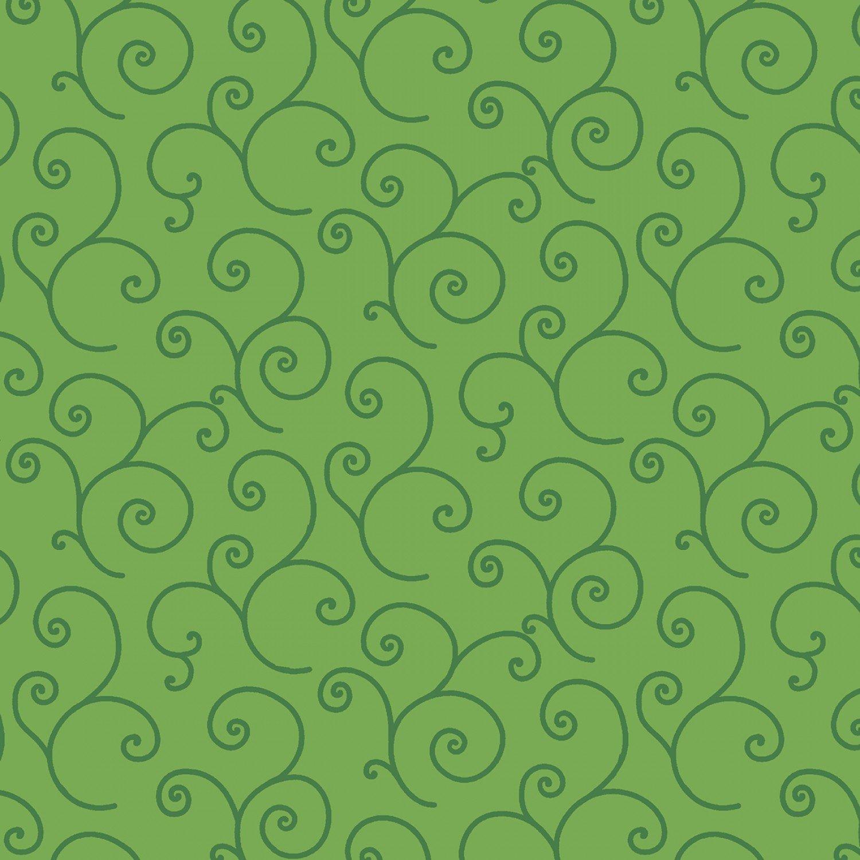 KimberBell Basics  Green Sroll # 8243M-GG