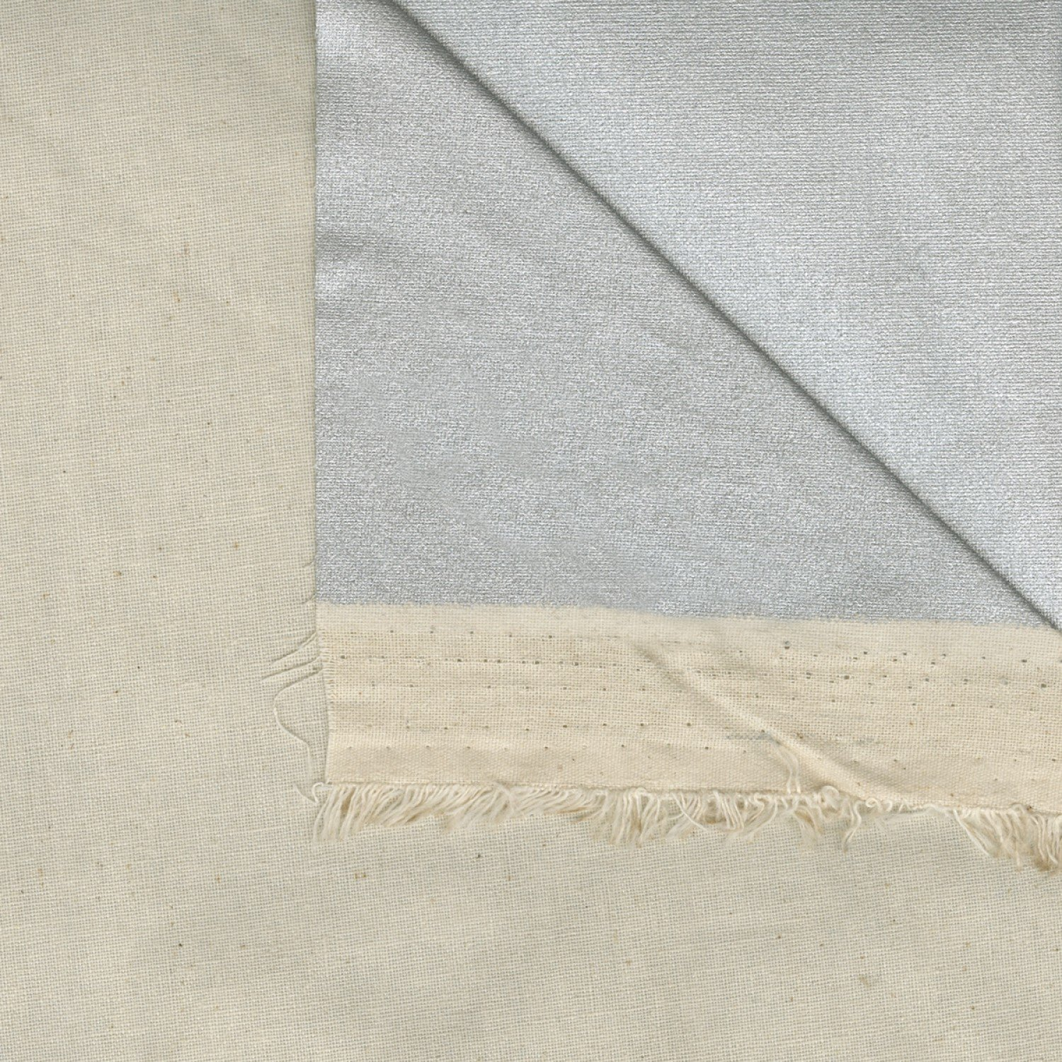 Cotton Fabric with Heat Reflective Coating
