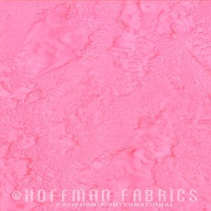 Hoffman Fabrics Watercolors Pink 1895-12