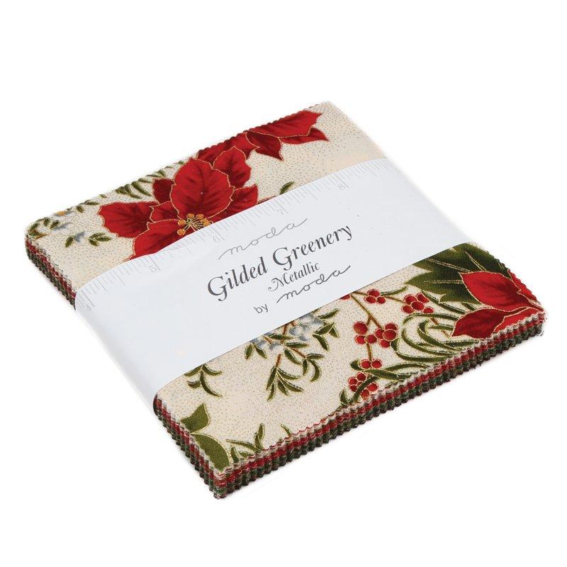 Gilded Greenery Metallic Charm