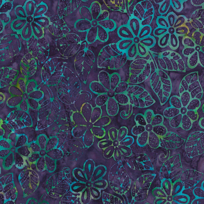 Timeless Treasures Grape Batik B5675-GRAPE