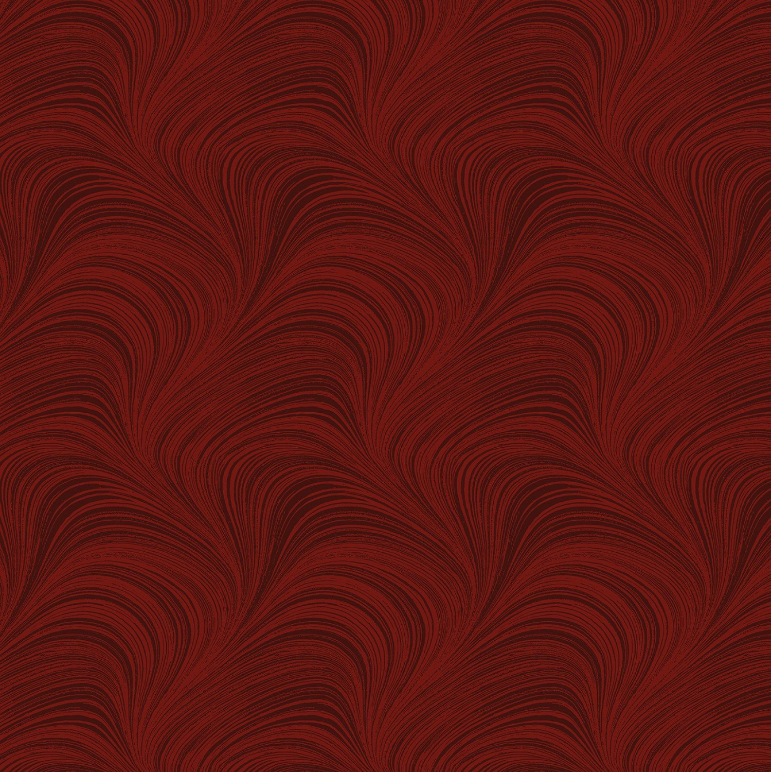 Dark Red Wave Texture 108in Wide Back