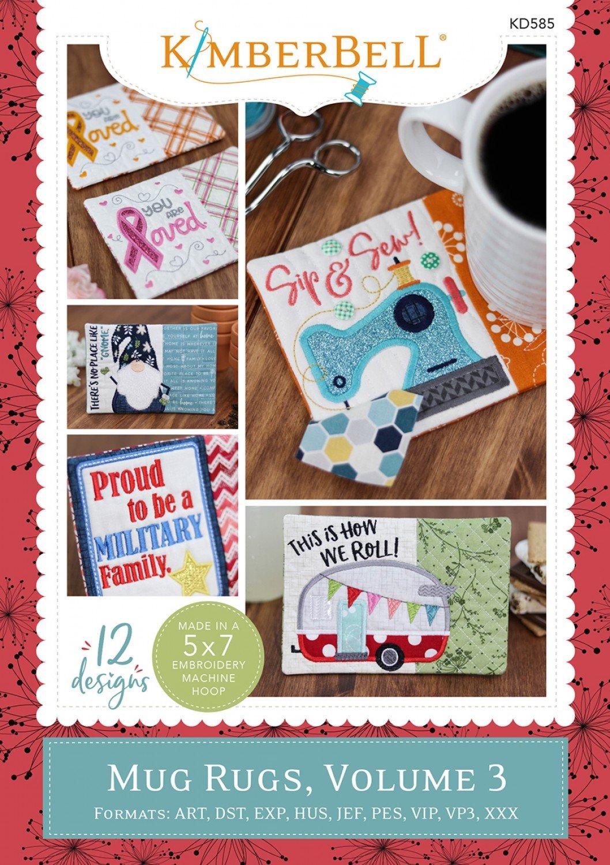CD Kimberbell Holiday & Seasonal Mug Rugs, Volume 3