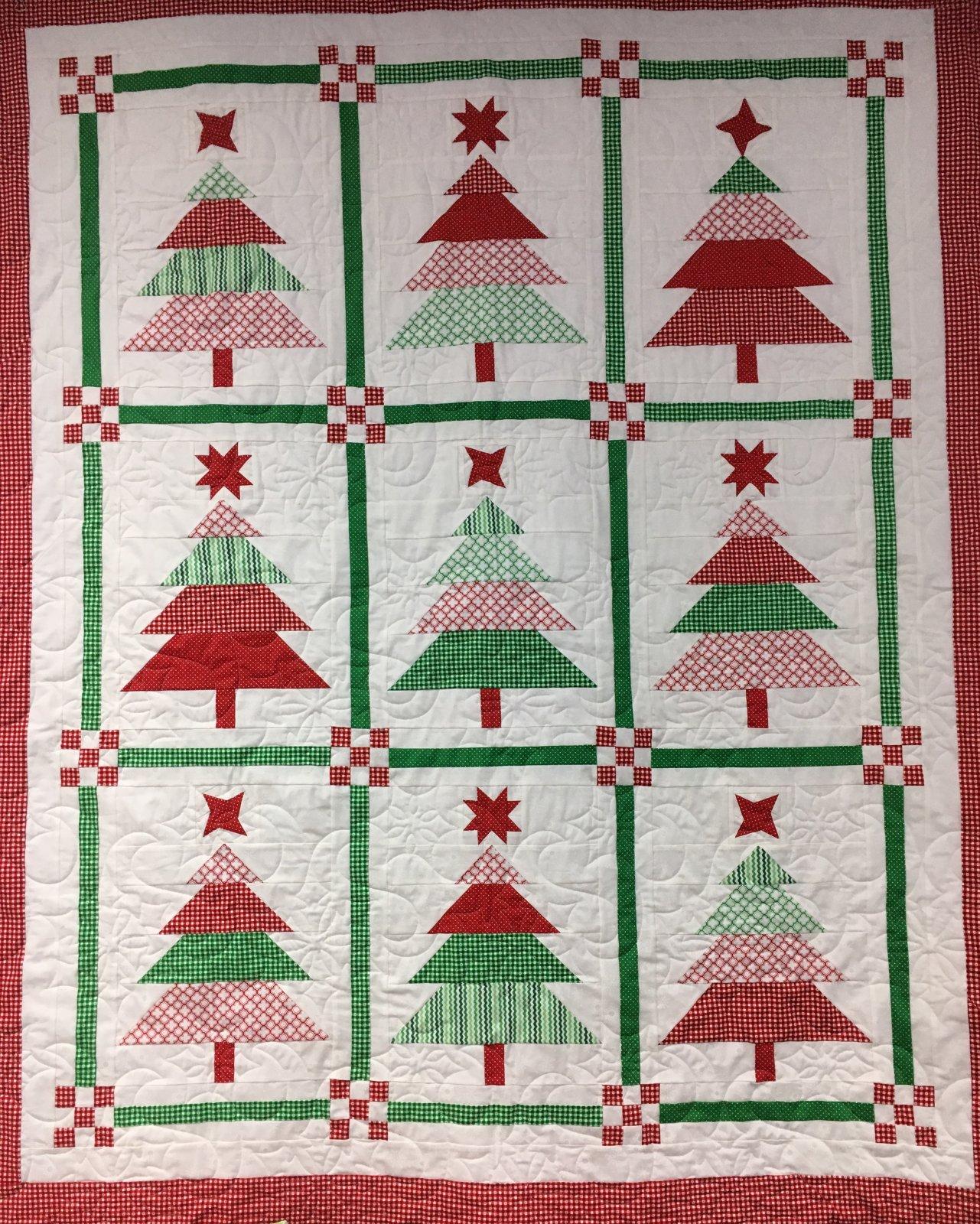 O Christmas Tree Throw Kit
