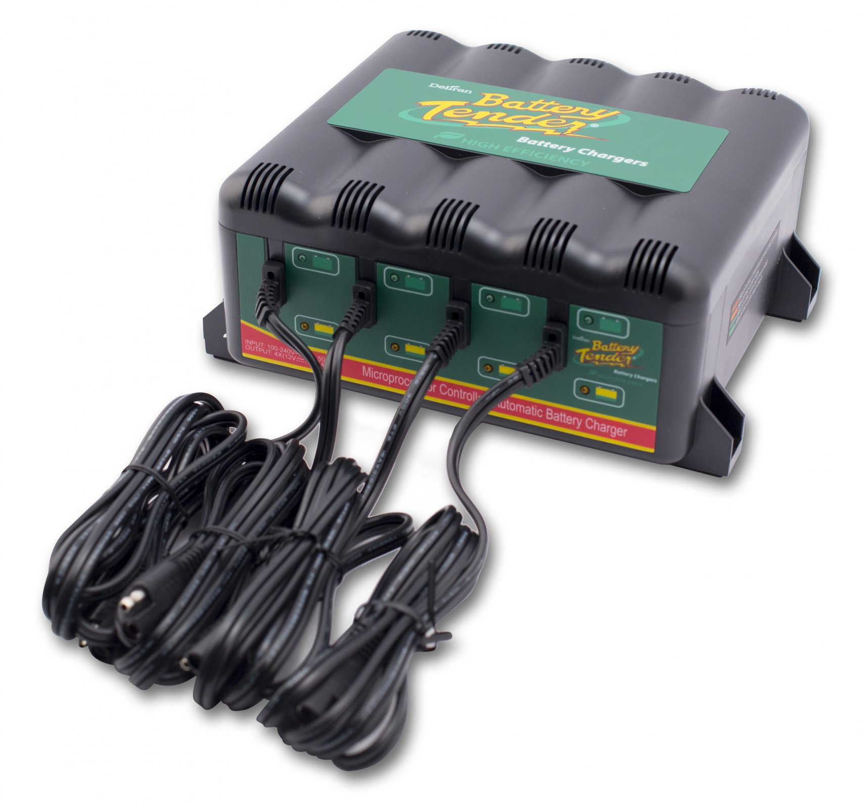 4-Bank Power Pac Charger