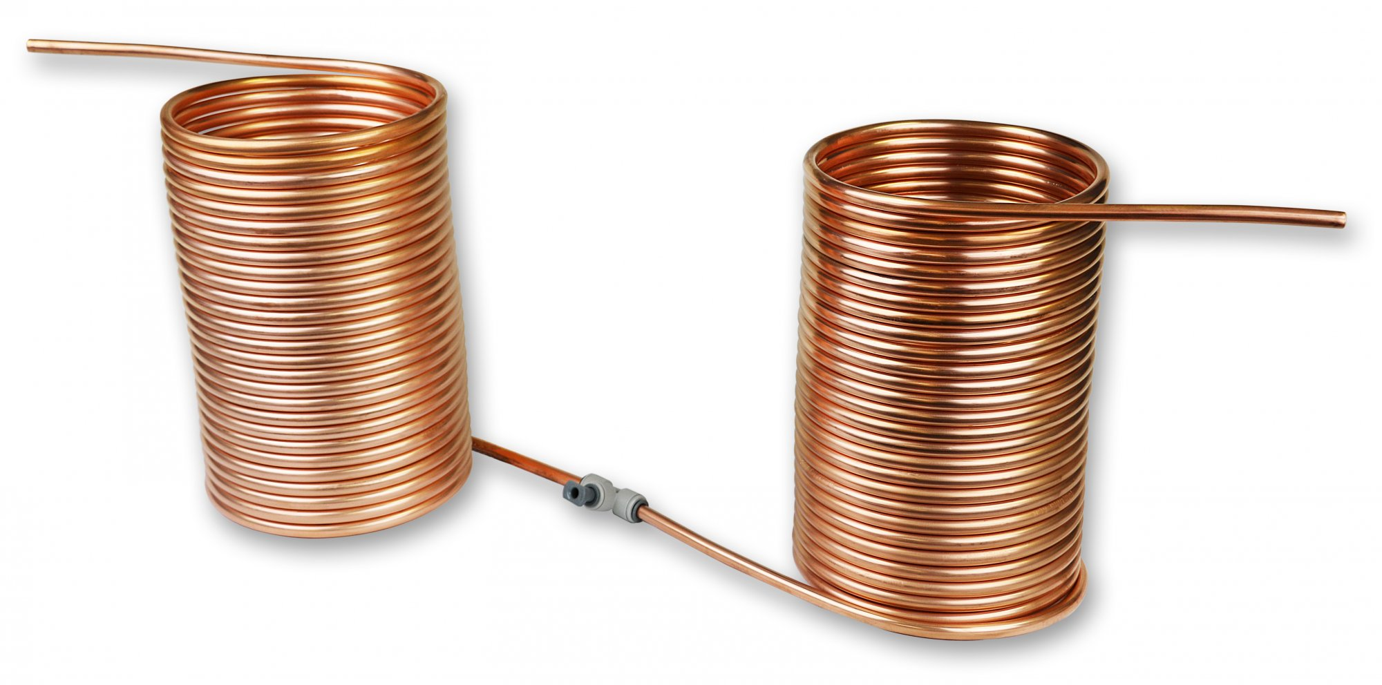 Chiller Coils Of Copper Wire Are Commonly Used In Electrical Inductors