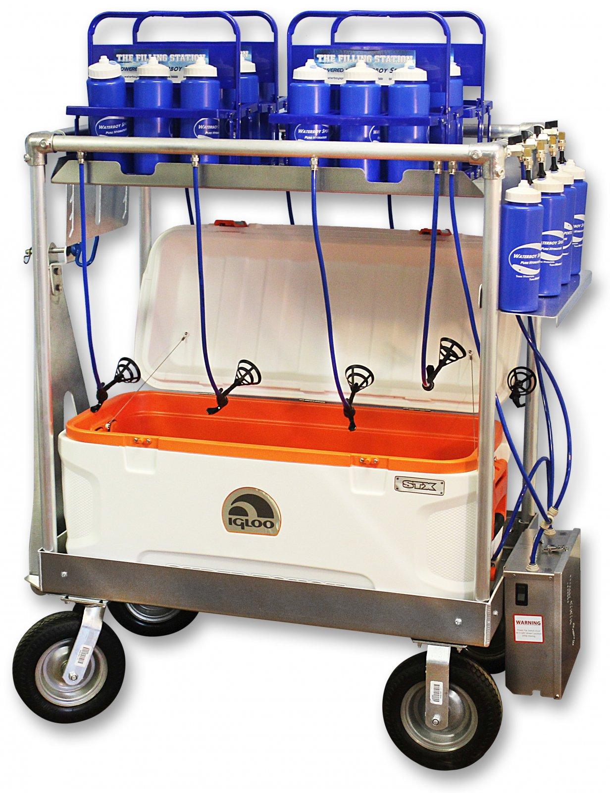 Horizontal Power Cooler 120 Filling Station (HP-C120-FS)