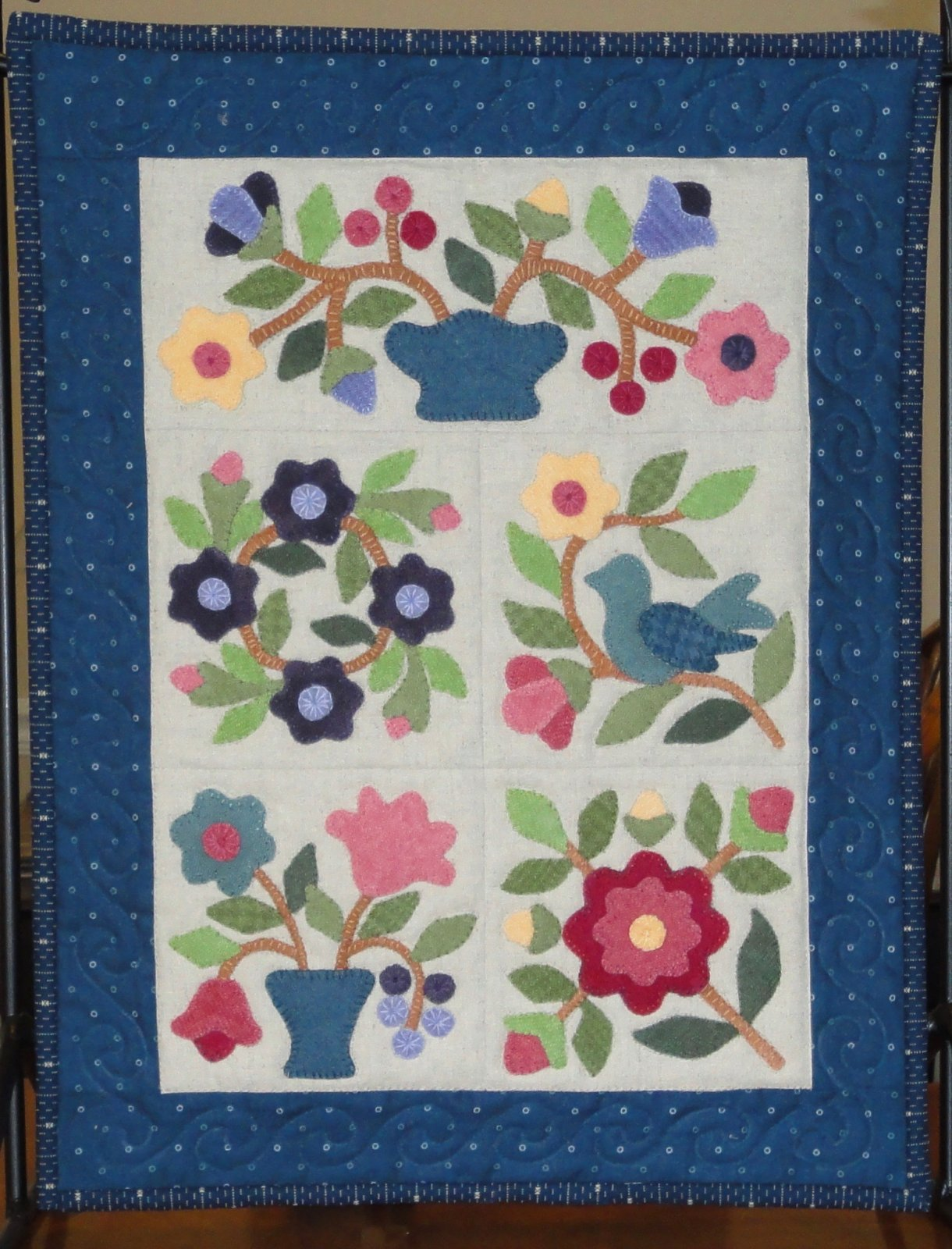 Blueberry Hill- Pattern by Lori Smith