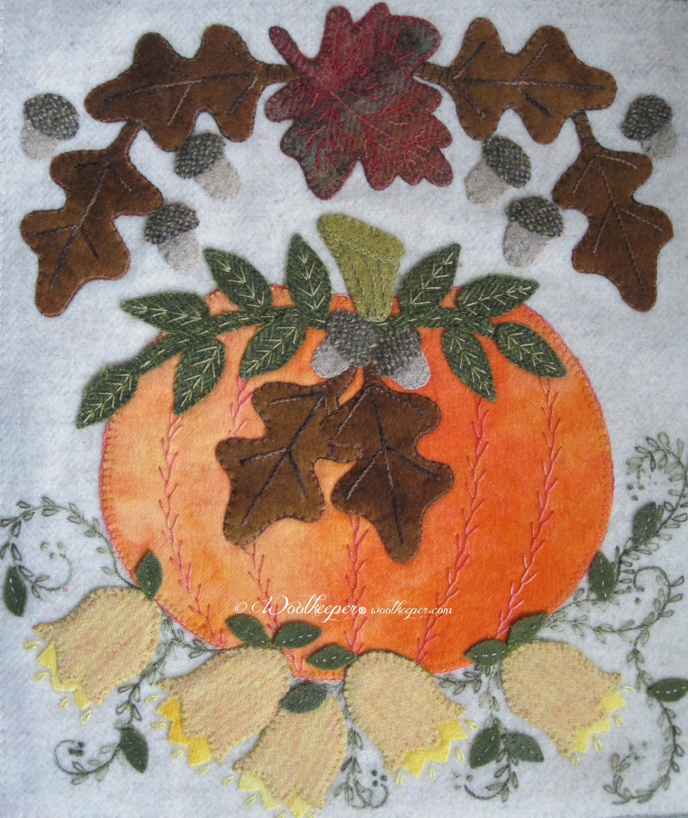 Fall Fancy Pattern Only
