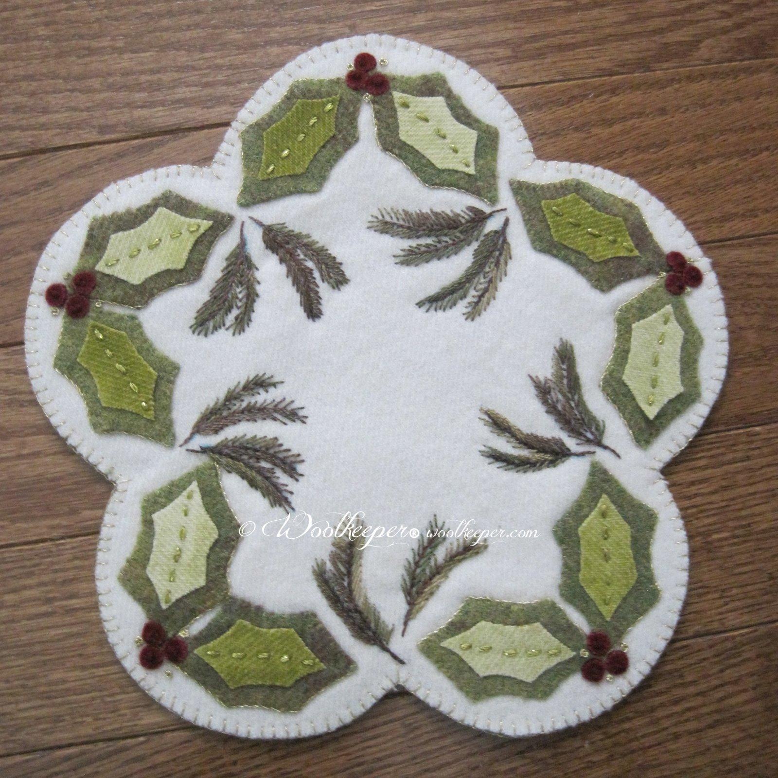 Holly & Pine Pattern & Kit