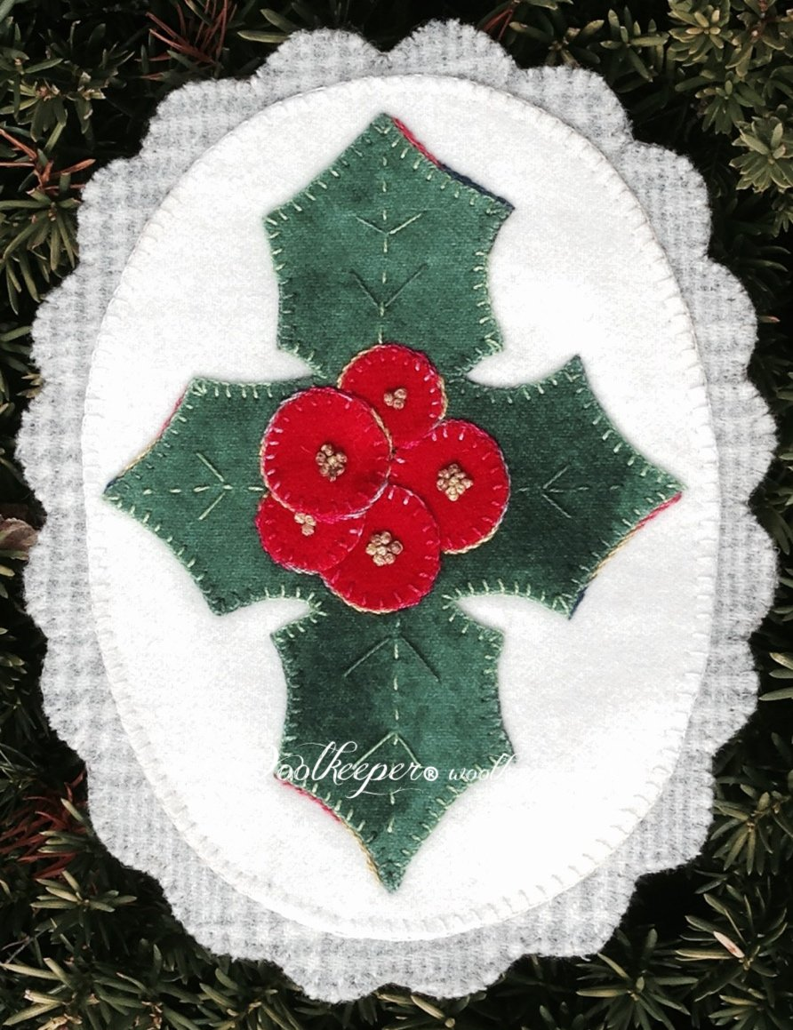 Holly Jolly Christmas pattern