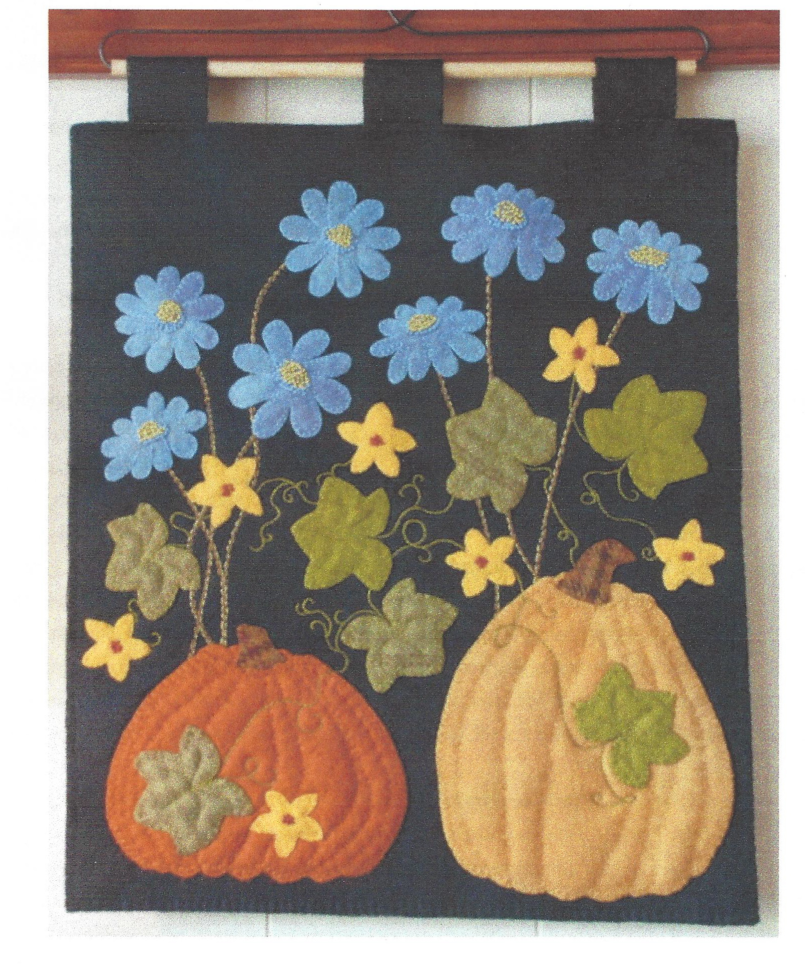 Chicory in the Pumpkin Patch - Pattern and Kit