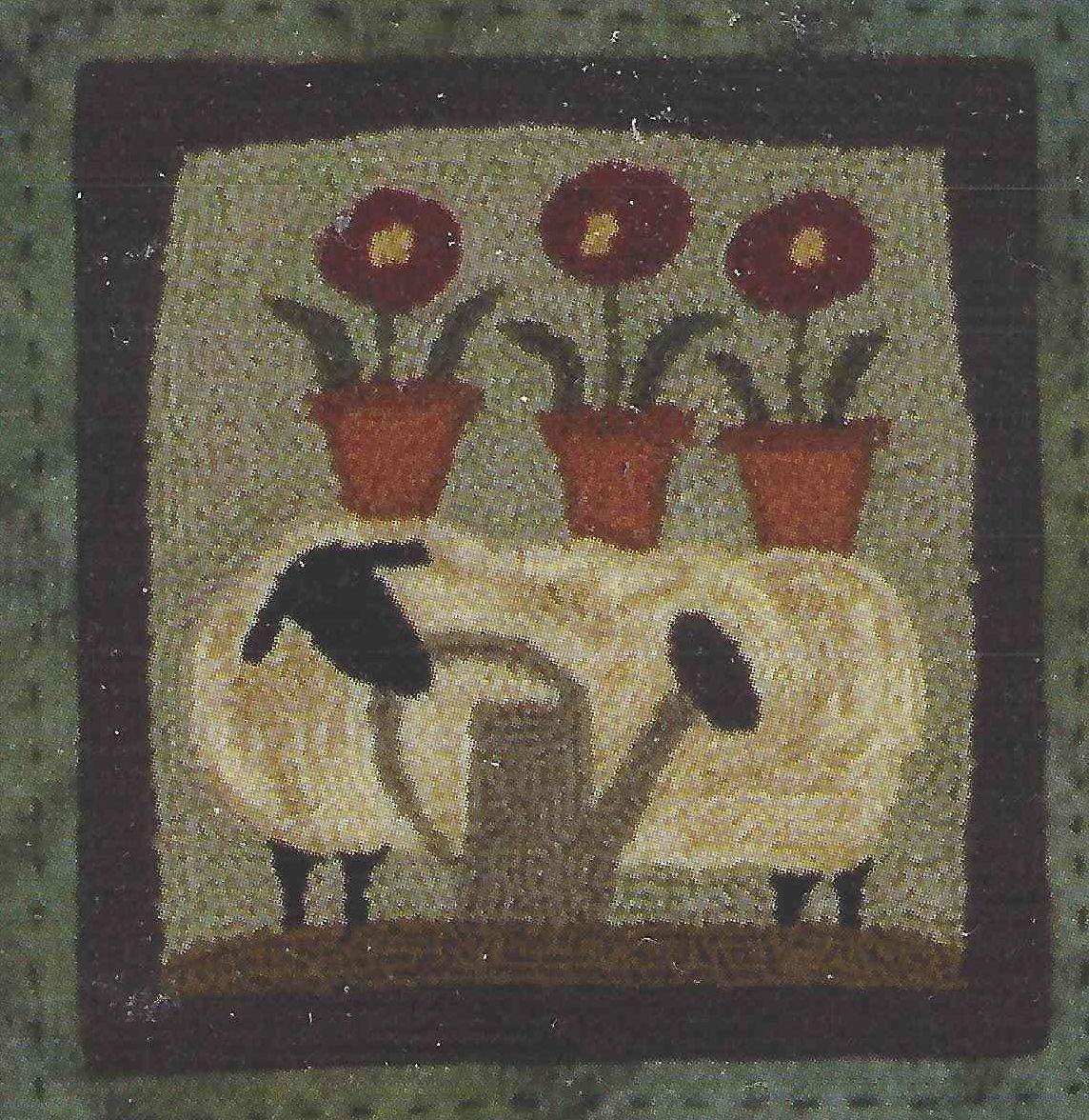 Wooly Gardener Pattern