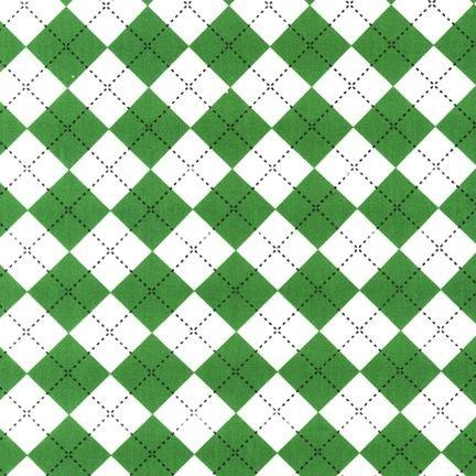 Remix Green Argyle