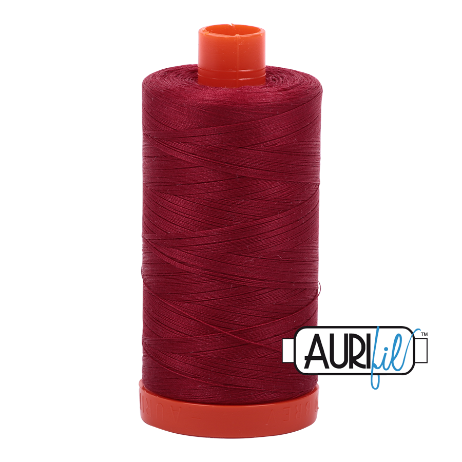 Aurifloss 6 Strand Cotton Floss Burgundy 16 Meters