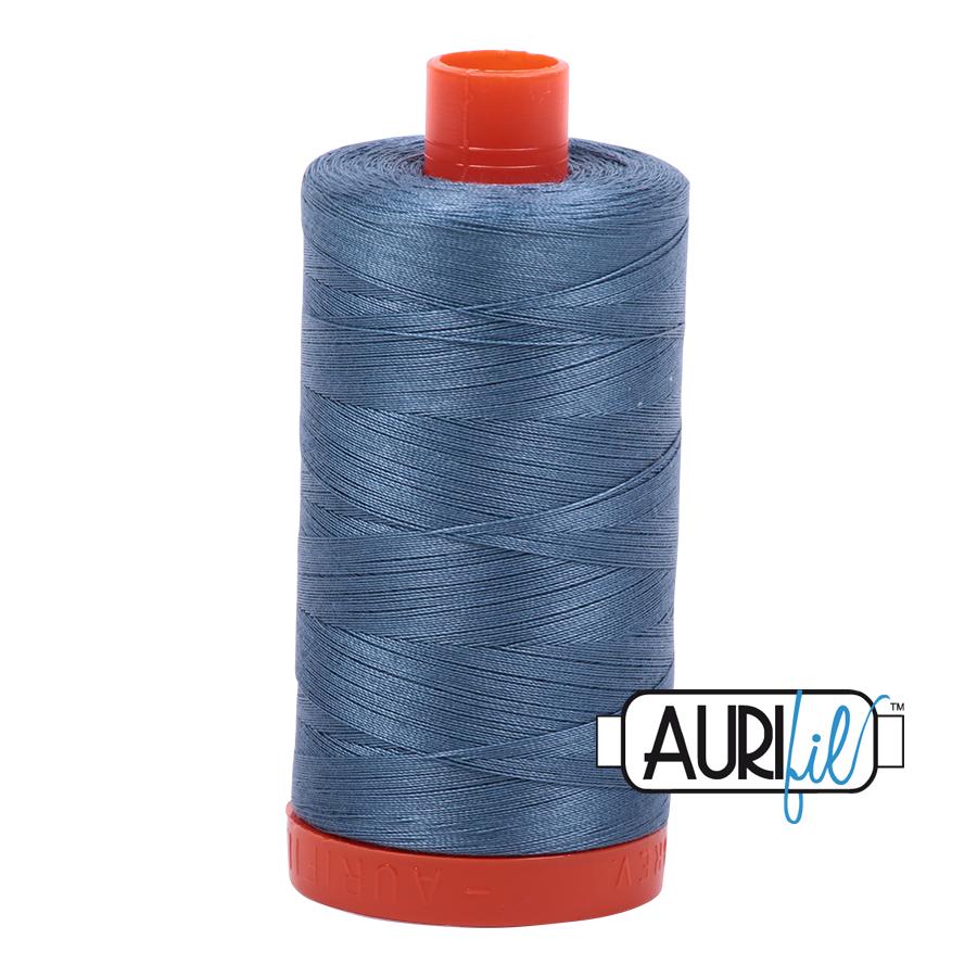 Aurifil Cotton Mako Thread Blue Grey 28wt 750m (1126)