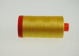 *Aurifil Cotton Mako Thread Pale Yellow 12wt 350m