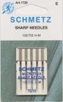 Schmetz Microtex (Sharp) Needles