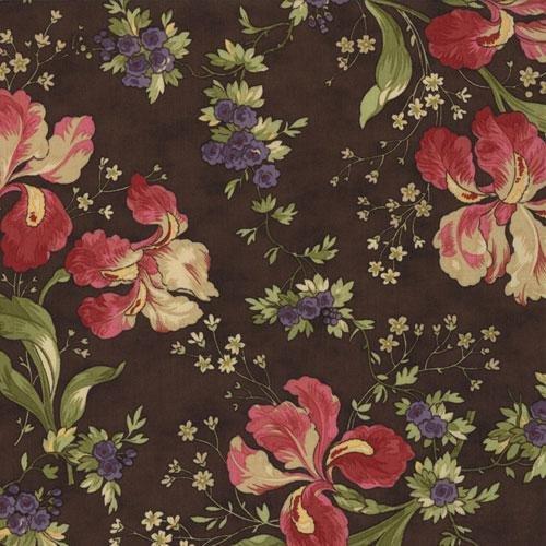 Audras Iris Garden Cocoa