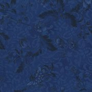 *Chelsea Large floral royal blue