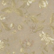 *Chelsea Large floral pale gold