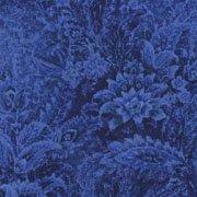 *Chelsea Large floral blue indigo