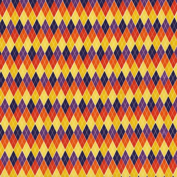 *Begger's Bounty Multicolored Argyle
