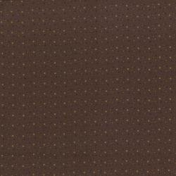 Spiced Pumpkin purple and gold dots on brown