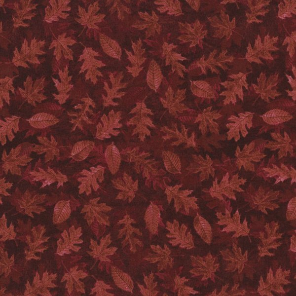 Red Leaves on Red Tonal