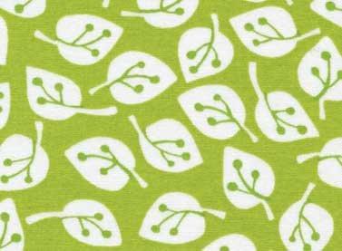 Summer Home white leaves on green