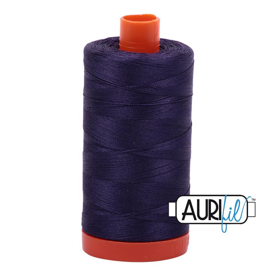 Aurifil Cotton Mako Thread Dark Dusty Grape 12wt 50m (2581)