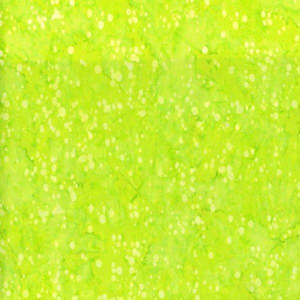 Blossom Batiks Lime Green