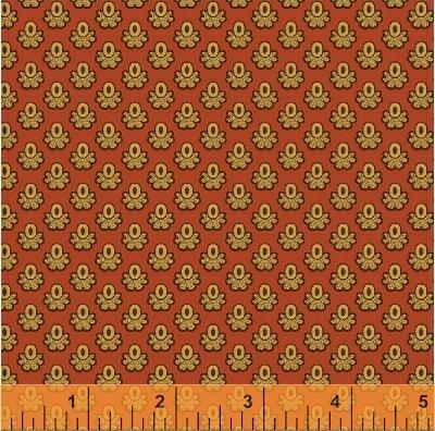 Sienna Print on Cinnamon
