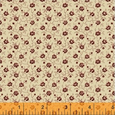 Storytellers Small Red Floral on Cream